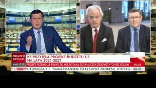 """Europoseł Platformy opuścił program TVPInfo. """"To jest partyjna propaganda, a nie dziennikarstwo"""""""