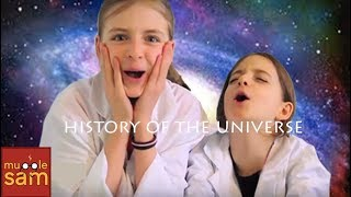 HISTORY OF THE UNIVERSE In 10 Mins | Space Science For Kids | Sophia&Bella