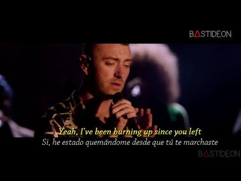 Sam Smith - Burning (Sub Español + Lyrics)