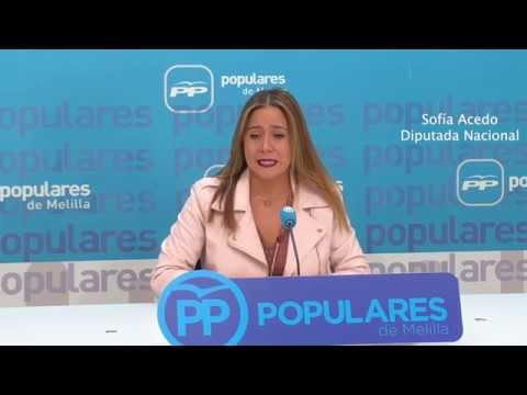 El PSOE se debe a su electorado y el PP se debe a todos los melillenses