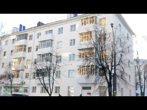 USSR - In this video we'll show you how is the famous typical USSR apartment building, known as