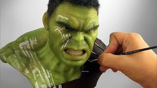 Video Hulk Sculpture Timelapse - Thor Ragnarok MP3, 3GP, MP4, WEBM, AVI, FLV Januari 2019