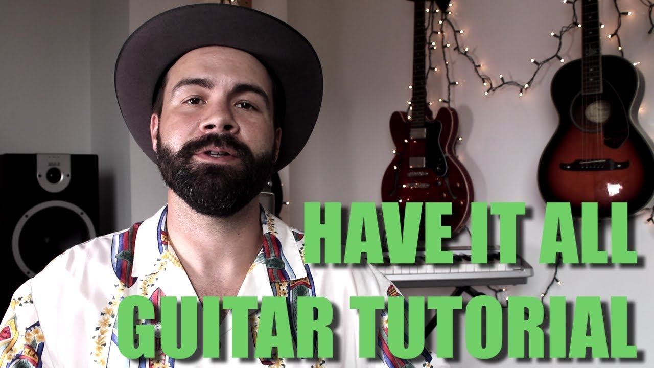 Jason Mraz – Have It All – Easy Guitar Tutorial for beginners