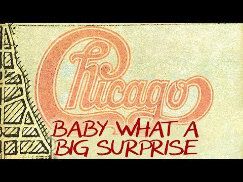 Tekst piosenki Chicago - Baby What A Big Surprise po polsku