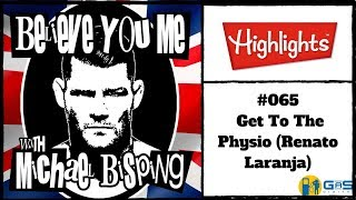 Michael Bisping Officially Retires - Believe You me #65 Highlight