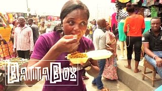 Subscribe to BattaBox on YouTube: http://goo.gl/4dgy2r Street food in Nigeria is on another level. They could serve you as a meal on the go, a snack or an ...