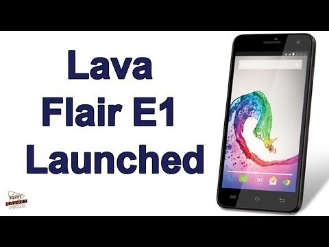 Lava Flair E1 With Android 4.4.2 KitKat Launched