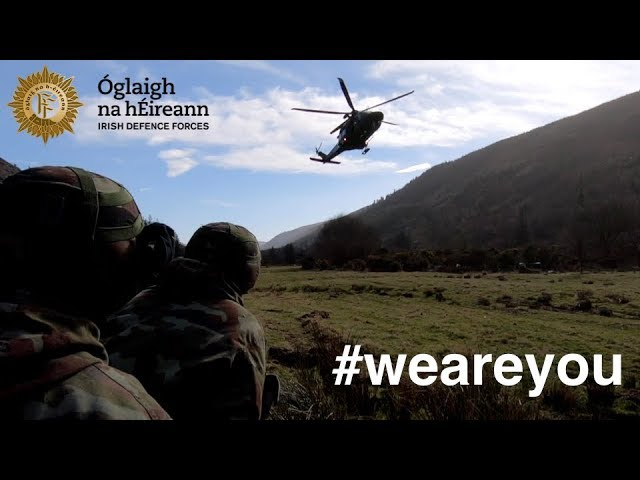 Who are the men and women of the Defence Forces?