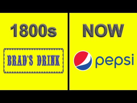 Logo Evolution Of The Most Famous Brands From The 1800s | Then and Now
