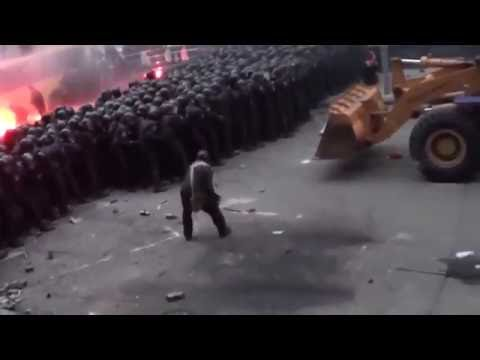 Майдан Начало Это не покажут на ТВ - DomaVideo.Ru
