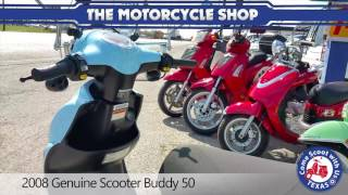 5. 2008 Genuine Scooter Buddy 50