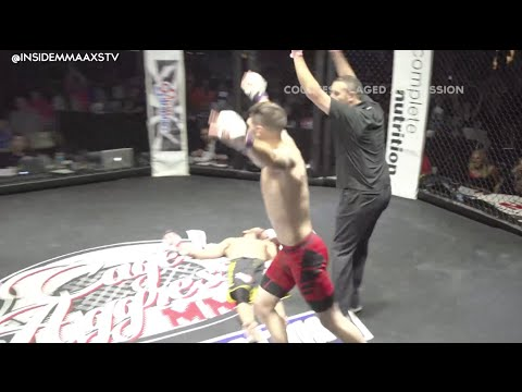 Ko - 2 Minutes of knockouts courtesy of Caged Aggression, Full Contact Productions, New York Fight Exchange, APFC, and Rage in the Cage. AXS TV is Your Home for MMA every Friday Night! Find AXS...