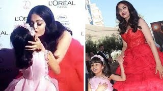 Video Aishwarya Rai With Daughter Aaradhya Bachchan CUTE Moments In Public MP3, 3GP, MP4, WEBM, AVI, FLV Oktober 2017