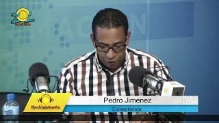 Pedro Jimenez comenta sobre expediente de juezas suspendidas en SFM