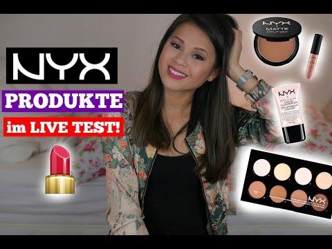 NYX PRODUKTE im LIVE TEST! + VERLOSUNG! | by Nhitastic