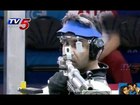 CWG 2014 | Abhinav Bindra wins gold in mens 10m air rifle : TV5 News