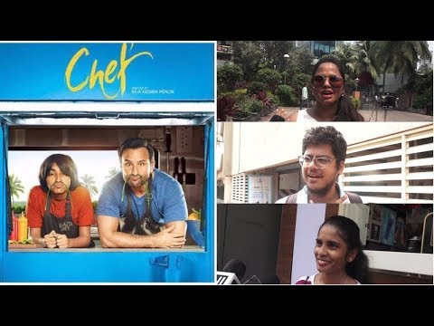 Saif Ali Khan | Public Review | Film | Chef