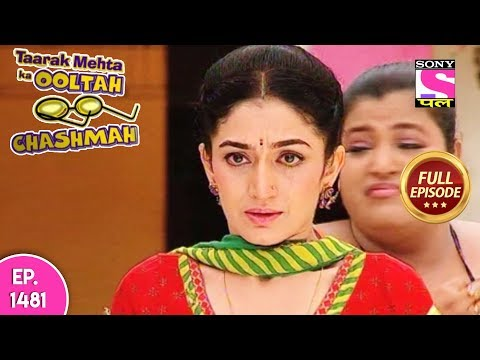 Taarak Mehta Ka Ooltah Chashmah - Full Episode 1481 - 25th  October, 2018