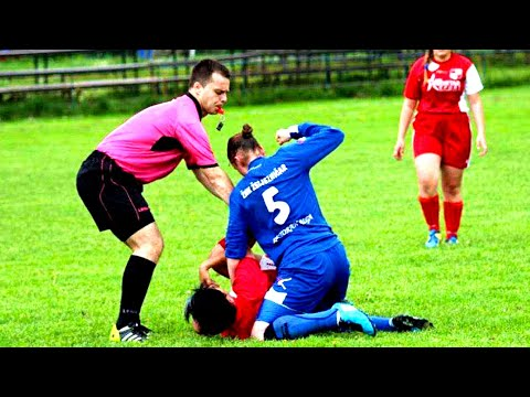 WHEN WOMEN'S FOOTBALL GETS WILD