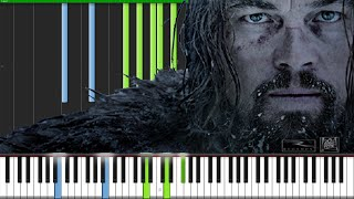 Main Theme - The Revenant [Piano Tutorial]