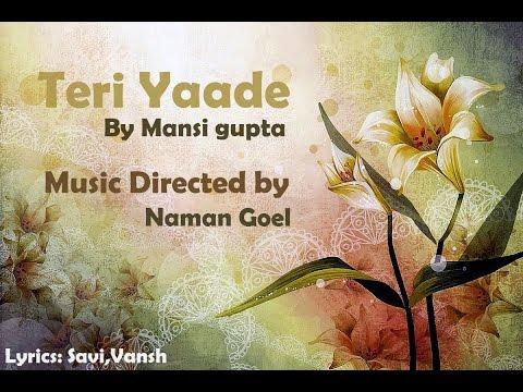 Video Poem -Teri Yaade download in MP3, 3GP, MP4, WEBM, AVI, FLV February 2017