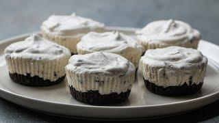 Mini Cookies 'N' Cream Ice Cream Pies by Tasty