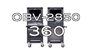 【360 Product Video】OBV-2850 8-12-Channel Mobile Video Studio