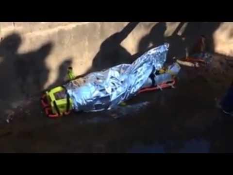 Motociclista cai em córrego depois de colidir com outro veículo em Tambaú