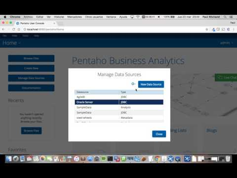 Pentaho Data Services JDBC DbVisualizer