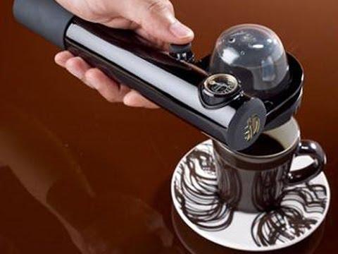 Handpresso Wild Domepod – Handheld Portable Espresso Maker