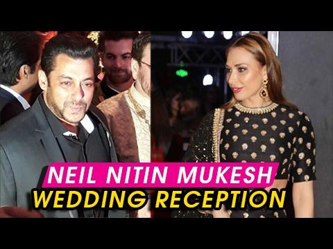 Salman Khan And luila Vantur ATTEND Neil Nitin Muk