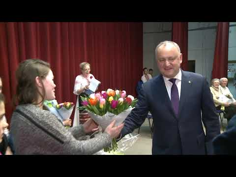 Igor Dodon a vizitat raionul Anenii Noi