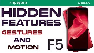 Video Oppo F5 Hidden Features : Gestures and Motion MP3, 3GP, MP4, WEBM, AVI, FLV Februari 2018