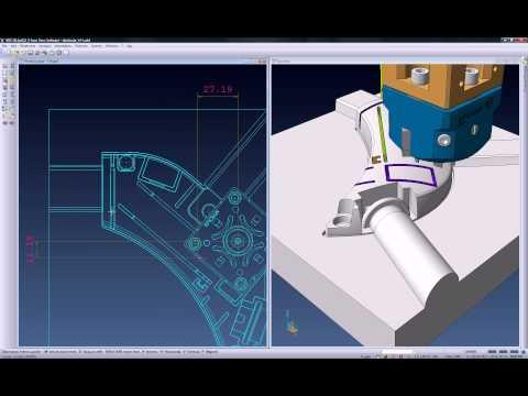 Comment VISI peut être utilisé pour extraire les données et la géométrie des électrodes pour la fabrication