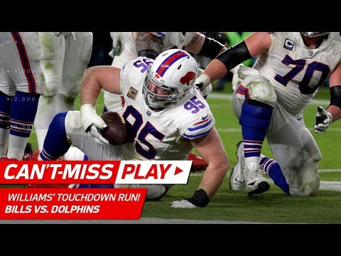 Video: Kyle Williams Puts His Shoulder Down for a Big Man TD Blast! | Can't-Miss Play | NFL Wk 17