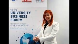 Business Forum University, Vienna, Ksenia Coaching