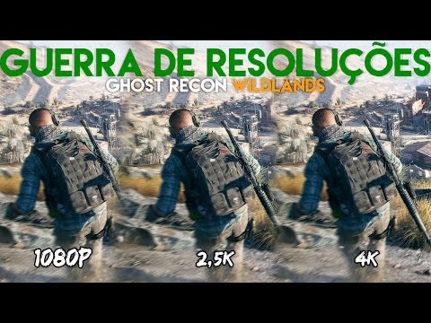 Guerra de Resoluções - Ghost Recon Wildlands ‹ ChipArt ›