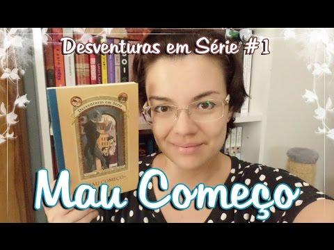 """Livro - Mau Começo """"Desventuras em Série #1"""" (Lemony Snicket)"""