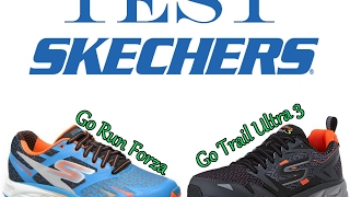 Test Skechers Go Run et Go Trail Ultra