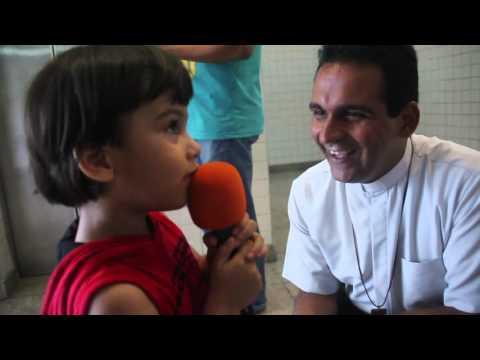 O que é o amor? As crianças respondem no Reviver Rio