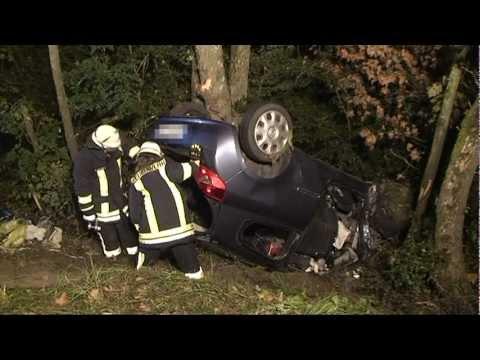 Unfälle: Ein Toter, sechs Schwerverletzte