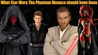 There are many different ways that Episode 1: The Phantom Menace SHOULD have been...and here is another one! A complete alternate history of not just ...