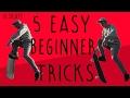 5 Easy Beginner Skateboard Tricks