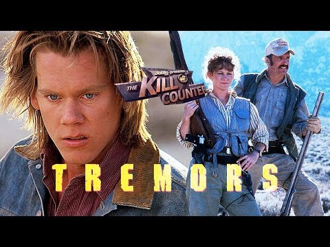 TREMORS - The Kill Counter (1990) Kevin Bacon