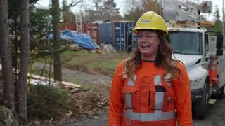 Bethany Locke - Powerline Technician Apprentice