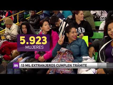 Migración en Chile: 13 mil extranjeros regularizan situación