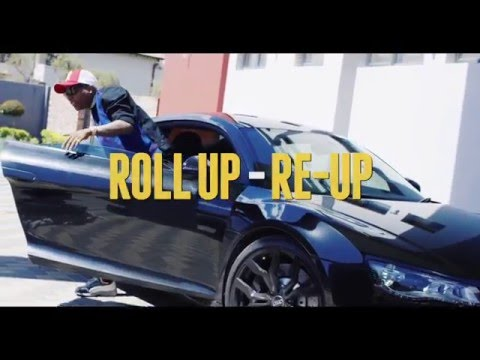 Emtee - Roll Up (ReUp) Ft WIZKID & AKA ( Official Remix)