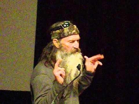 Phil Robertson Duck Commander Speaking Part 2