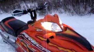 4. 2005 Arctic cat f7 sno pro