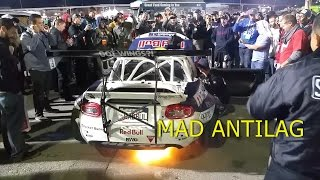Mad Mike shoots flames at SEMA! by Rob Dahm